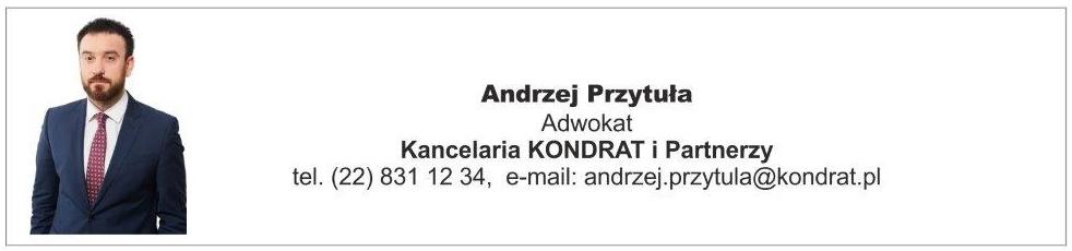 Andrzej Przytuła - Kancelaria KONDRAT i Partnerzy