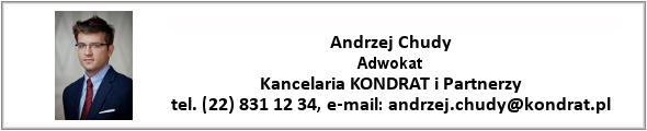 Andrzej Chudy - Kancelaria KONDRAT